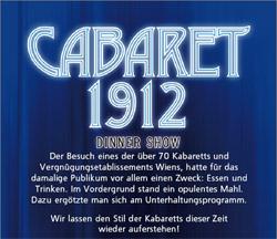 Cabaret 1912